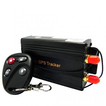 Afterpartz Ovo-103B Profi Auto Motorrad Tracker Anti-Diebstahl Lokalisierung +Fernbedienung Gps Ortung Gsm Gprs Peilsender Fahrzeugortung Online Überwachung, App für Ios&Android - 2