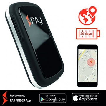 Allround Finder von PAJ GPS Tracker zur Live Ortung von Personen und Fahrzeug KFZ mit bis zu 30 Tagen Akku NEU Gratis SMS App für iOS und Android - SMS-Variante - 1