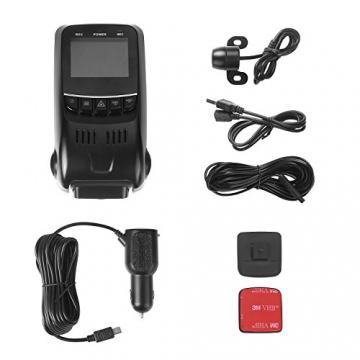 APEMAN C550 Autokamera Dashcam Full HD versteckte DVR Dual Lens 170 ° Weitwinkelobjektiv GPS kompatibel mit G-Sensor, Automatische Loop-Zyklus Aufnahme, Bewegungserkennung - 8