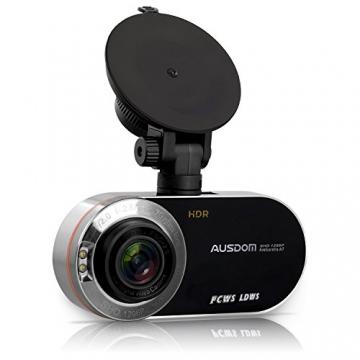 AUSDOM AD260 Autokamera Dashcam 2,7 Zoll Bildschirm mit G-Sensor - 1