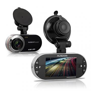 AUSDOM AD260 Autokamera Dashcam 2,7 Zoll Bildschirm mit G-Sensor - 2
