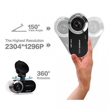 AUSDOM AD260 Autokamera Dashcam 2,7 Zoll Bildschirm mit G-Sensor - 3