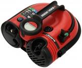 Black+Decker Akku-/12V-Kompressor / Luftpumpe, 160PSI, für Reifen, Bälle etc., Akku-betrieben, Automatik-Abschaltung, integriertes Reifenventil, ASI500 - 1