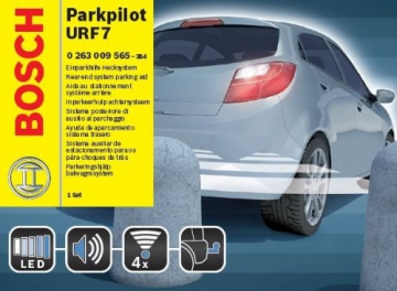 Bosch 0263009565 Parkpilot URF7, optische und akustische universal Einparkhilfe mit 4 Sensoren in Erstausrüstungsqualität - 2