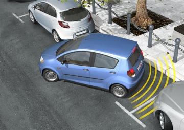 Bosch 0263009565 Parkpilot URF7, optische und akustische universal Einparkhilfe mit 4 Sensoren in Erstausrüstungsqualität - 3