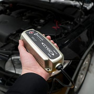CTEK MXS 5.0 Batterieladegerät Mit Automatischer Temperaturkompensation, 12V 5.0 Amp (EU Stecker) - 3