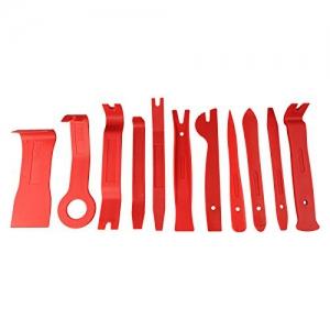 Fahrzeug Innen-Verkleidung Demontage Zierleisten Polsterung Montage-Keile Zierleistenkeil Cliplöser 11 tlg CDWIV-14 - 2