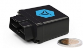 FLEETIZE Elektronisches Fahrtenbuch, Finanzamtkonform, GPS Tracker mit EU-SIM-Karte, Fahrtenschreiber, OBD2-Betrieb am PKW und LKW, integrierter Sabotageschutz, vollautomatisch, flottenfähig, kabellos - 1