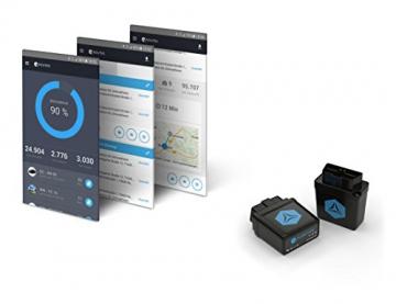 FLEETIZE Elektronisches Fahrtenbuch, Finanzamtkonform, GPS Tracker mit EU-SIM-Karte, Fahrtenschreiber, OBD2-Betrieb am PKW und LKW, integrierter Sabotageschutz, vollautomatisch, flottenfähig, kabellos - 7