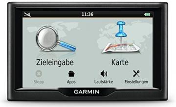 Garmin nüvi 57LMT Navigationsgerät - Zentraleuropa Karte, lebenslange Kartenupdates, Premium Verkehrsfunklizenz, 5 Zoll (12,7cm) Touchscreen - 3