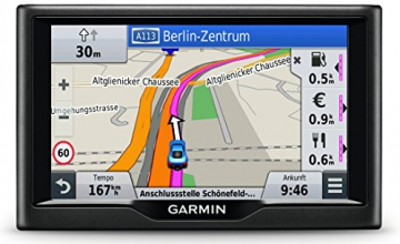 Garmin nüvi 57LMT Navigationsgerät - Zentraleuropa Karte, lebenslange Kartenupdates, Premium Verkehrsfunklizenz, 5 Zoll (12,7cm) Touchscreen - 5