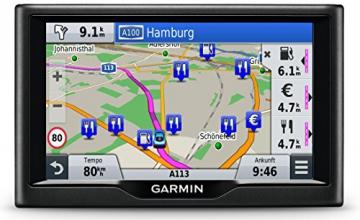 Garmin nüvi 57LMT Navigationsgerät - Zentraleuropa Karte, lebenslange Kartenupdates, Premium Verkehrsfunklizenz, 5 Zoll (12,7cm) Touchscreen - 6