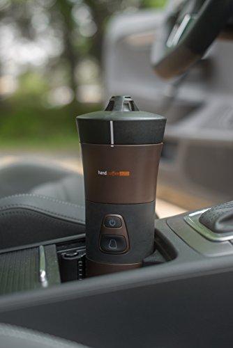 Handpresso 48264 - Handcoffee Auto 12 Volt in schwarz für Kaffeepads aller Marken - auch an einer Steckdose mit separat erhältlichem Stromadapter verwendbar - 3