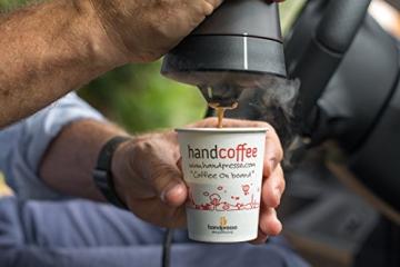 Handpresso 48264 - Handcoffee Auto 12 Volt in schwarz für Kaffeepads aller Marken - auch an einer Steckdose mit separat erhältlichem Stromadapter verwendbar - 4