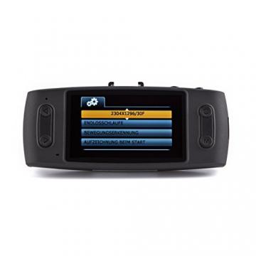 iTracker GS6000-A7 GPS Autokamera Dashcam SuperHD 1296p Dash-Cam Carcam - 4