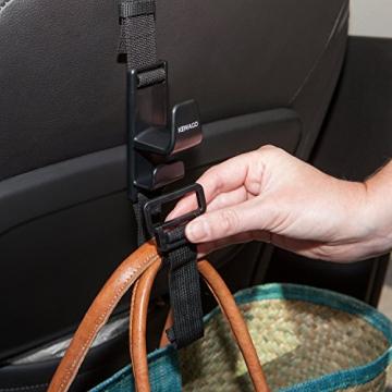 Kewago Auto-Handtaschenhalter. Der clevere Handtaschen Haken für die Kopfstütze - 6
