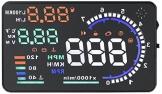 kkmoon A8HUD 5.5 Zoll-Auto-HUD Kopf Oben OBD2 OBDII Kraftstoffverbrauch - 1
