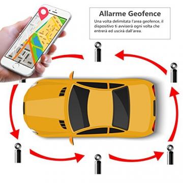 LEKEMI GPS Tracker Fahrzeug-Tracker mit einem starken Magnet, einer 5.000 mAh Batterie und kostenlosen Apps - 5