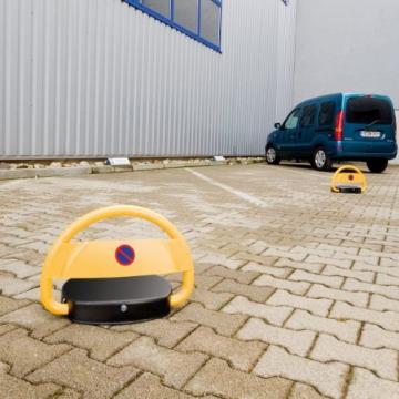 Lescars Parkplatzwächter: Automatische Parkplatzsperre mit Akku & Fernbedienung (Parksperre mit Fernbedienung) - 8