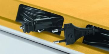 Mobicool 9103500788 G26 AC/DC Thermoelektrische Kühlbox für Auto und Steckdose, 25 Liter, Energieklasse A++ - 3