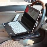 OFT Multifunktions Auto-Lenkrad Ablagetisch / Laptoptisch KFZ-Universal Mehrzweckablage für Schreiben, Essen, Trinken - 1