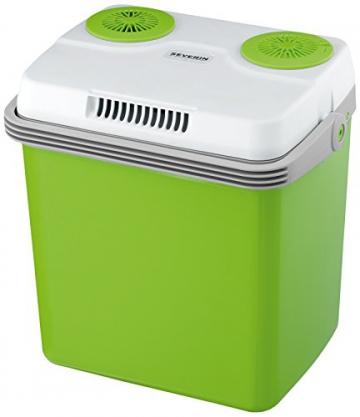 Severin KB 2922 Elektrische Kühlbox mit Kühl- und Warmhaltefunktion - 20 Liter, 230V / 12V DC - 1