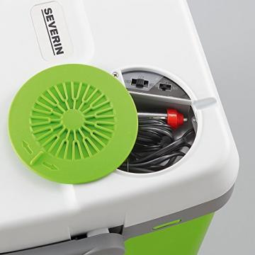 Severin KB 2922 Elektrische Kühlbox mit Kühl- und Warmhaltefunktion - 20 Liter, 230V / 12V DC - 7