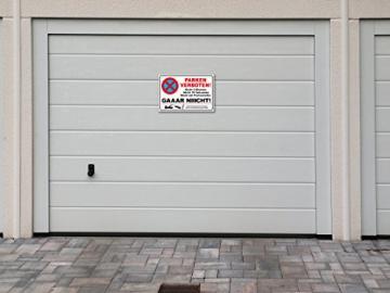 TATMOTIVE PS01 Parkverbotsschild lustig Schild Parken verboten inkl. Schrauben & Löcher / 300 x 200 x 3 mm - 3