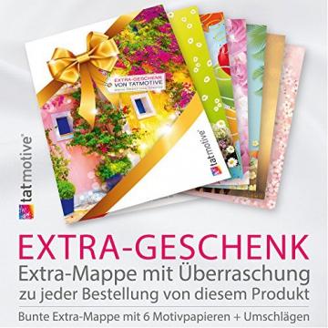 TATMOTIVE PS01 Parkverbotsschild lustig Schild Parken verboten inkl. Schrauben & Löcher / 300 x 200 x 3 mm - 4