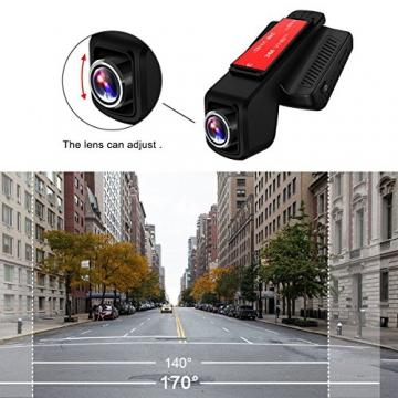 TOGUARD Auto Kamera,Dash Cam,2.45