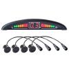 VSG ® VSG Premium Einparkhilfe mit Farb-Display und eingebauten Pieper inklusiv 4 Sensoren in schwarz für hinten - 1